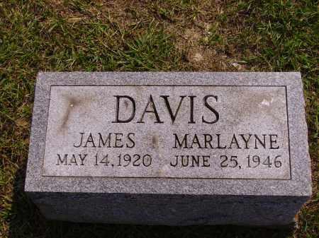 DAVIS, JAMES - Meigs County, Ohio   JAMES DAVIS - Ohio Gravestone Photos