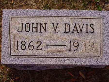 DAVIS, JOHN V. - Meigs County, Ohio | JOHN V. DAVIS - Ohio Gravestone Photos