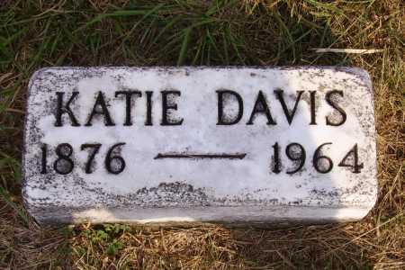 DAVIS, KATIE - Meigs County, Ohio | KATIE DAVIS - Ohio Gravestone Photos