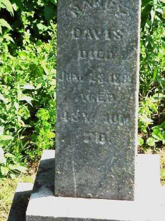 DAVIS, NANCY - Meigs County, Ohio   NANCY DAVIS - Ohio Gravestone Photos