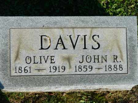 DAVIS, OLIVE - Meigs County, Ohio | OLIVE DAVIS - Ohio Gravestone Photos