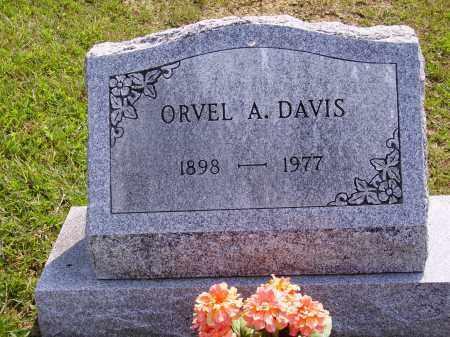 DAVIS, ORVEL A. - Meigs County, Ohio   ORVEL A. DAVIS - Ohio Gravestone Photos