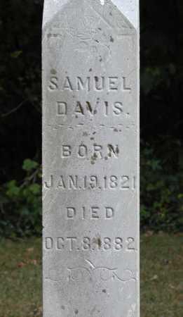 DAVIS, SAMUEL - Meigs County, Ohio | SAMUEL DAVIS - Ohio Gravestone Photos
