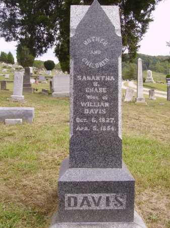 DAVIS, SAMANTHA M. - Meigs County, Ohio | SAMANTHA M. DAVIS - Ohio Gravestone Photos