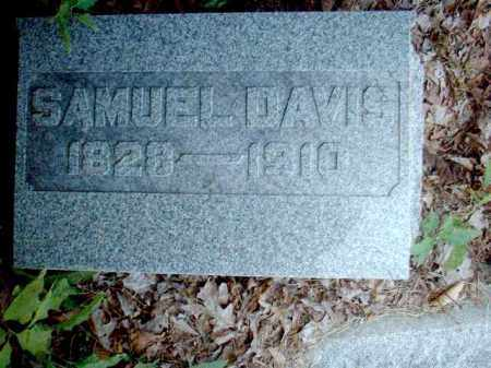 DAVIS, SAMUEL - Meigs County, Ohio   SAMUEL DAVIS - Ohio Gravestone Photos
