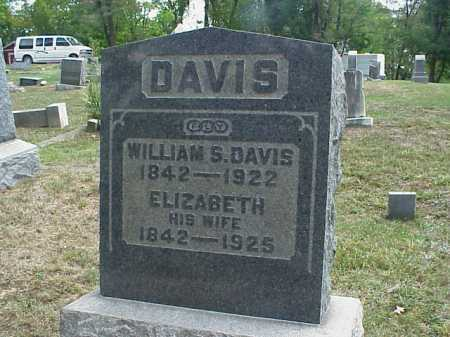 DAVIS, WILLIAM S. - Meigs County, Ohio | WILLIAM S. DAVIS - Ohio Gravestone Photos