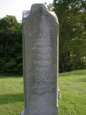 DAY, HANNAH - Meigs County, Ohio | HANNAH DAY - Ohio Gravestone Photos