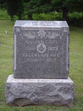 FORREST DAY, ELLEN L. - Meigs County, Ohio   ELLEN L. FORREST DAY - Ohio Gravestone Photos