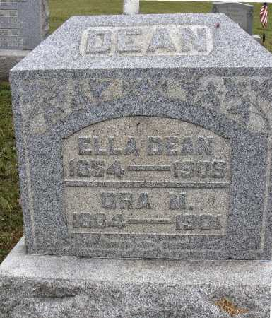 DEAN, ORA M. - Meigs County, Ohio | ORA M. DEAN - Ohio Gravestone Photos