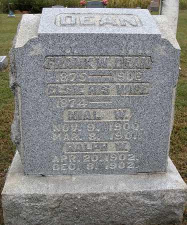 THOMPSON DEAN, ELSIE - Meigs County, Ohio | ELSIE THOMPSON DEAN - Ohio Gravestone Photos