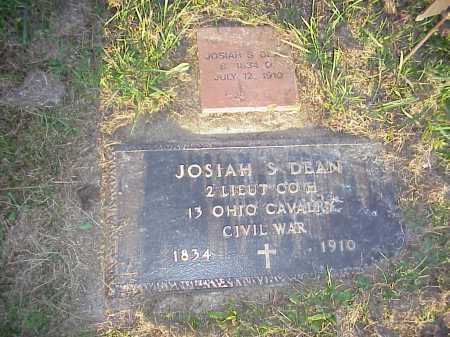 DEAN, JOSIAH S. - Meigs County, Ohio   JOSIAH S. DEAN - Ohio Gravestone Photos