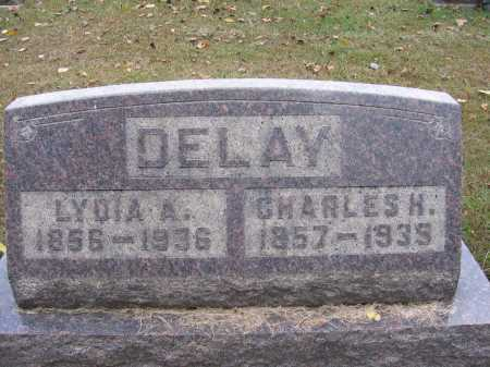 DELAY, CHARLES H. - Meigs County, Ohio | CHARLES H. DELAY - Ohio Gravestone Photos