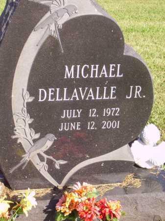 DELLAVALLE, MICHAEL, JR. - Meigs County, Ohio   MICHAEL, JR. DELLAVALLE - Ohio Gravestone Photos