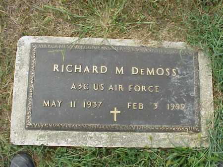 DEMOSS, RICHARD M. - Meigs County, Ohio   RICHARD M. DEMOSS - Ohio Gravestone Photos