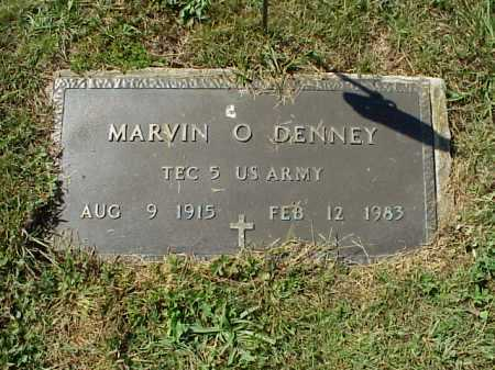 DENNEY, MARVIN O. - MILITARY - Meigs County, Ohio | MARVIN O. - MILITARY DENNEY - Ohio Gravestone Photos