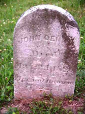 DENNIS, JOHN - Meigs County, Ohio | JOHN DENNIS - Ohio Gravestone Photos
