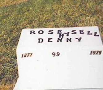 DENNY, ROSE - Meigs County, Ohio | ROSE DENNY - Ohio Gravestone Photos