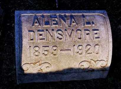 DENSMORE, ALENA L. - Meigs County, Ohio | ALENA L. DENSMORE - Ohio Gravestone Photos