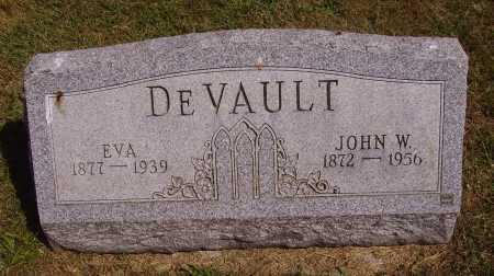 HARTLEY DEVAULT, EVA - Meigs County, Ohio | EVA HARTLEY DEVAULT - Ohio Gravestone Photos