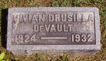 DEVAULT, VIVAN DRUSILLA - Meigs County, Ohio | VIVAN DRUSILLA DEVAULT - Ohio Gravestone Photos