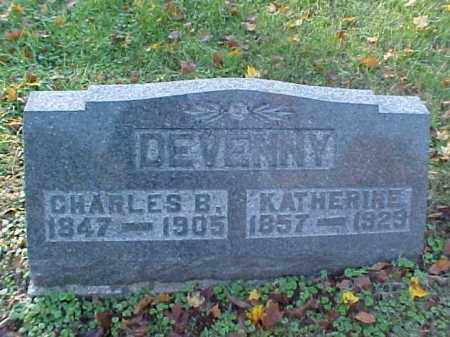DEVENNY, KATHERINE - Meigs County, Ohio | KATHERINE DEVENNY - Ohio Gravestone Photos