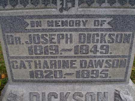 DICKSON, CATHARINE - CLOSE VIEW - Meigs County, Ohio | CATHARINE - CLOSE VIEW DICKSON - Ohio Gravestone Photos