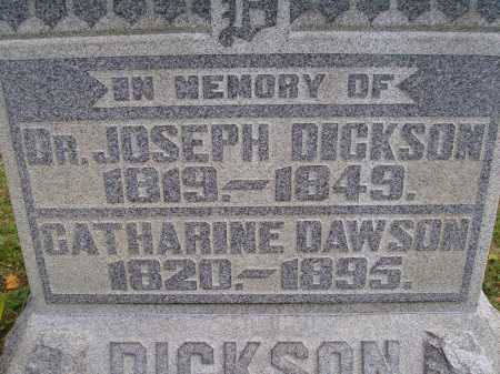 DICKSON, JOSEPH - CLOSE VIEW - Meigs County, Ohio | JOSEPH - CLOSE VIEW DICKSON - Ohio Gravestone Photos