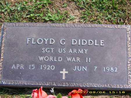 """DIDDLE, FLOYD G """"BUSTER"""" - Meigs County, Ohio 