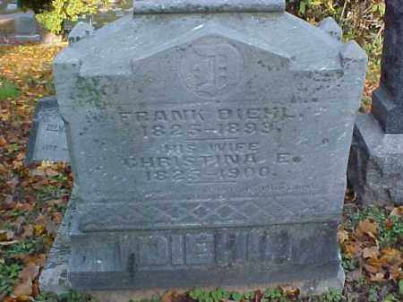 DIEHL, CHRISTINA E. - Meigs County, Ohio   CHRISTINA E. DIEHL - Ohio Gravestone Photos