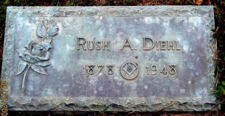 DIEHL, RUSH A. - Meigs County, Ohio   RUSH A. DIEHL - Ohio Gravestone Photos