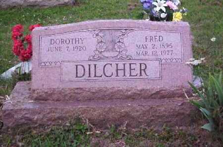 DILCHER, FRED - Meigs County, Ohio | FRED DILCHER - Ohio Gravestone Photos