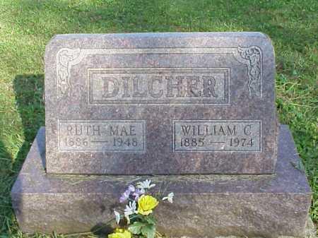 DILCHER, WILLIAM C. - Meigs County, Ohio | WILLIAM C. DILCHER - Ohio Gravestone Photos