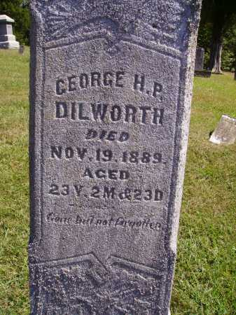 DILWORTH, GEORGE H. P. - CLOSEVIEW - Meigs County, Ohio   GEORGE H. P. - CLOSEVIEW DILWORTH - Ohio Gravestone Photos