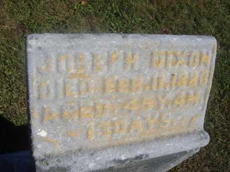 DIXON, JOSEPH - Meigs County, Ohio | JOSEPH DIXON - Ohio Gravestone Photos
