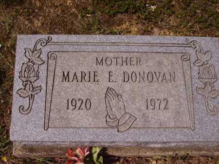 DONOVAN, MARIE E. - Meigs County, Ohio   MARIE E. DONOVAN - Ohio Gravestone Photos