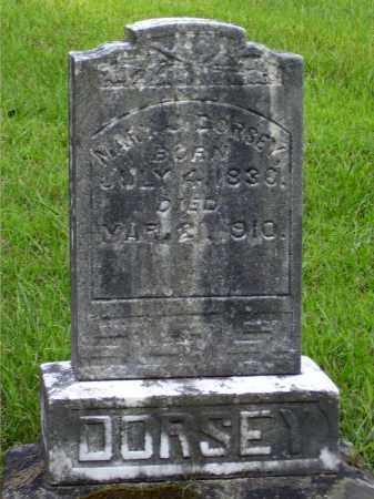 DORSEY, MARY J. - Meigs County, Ohio | MARY J. DORSEY - Ohio Gravestone Photos