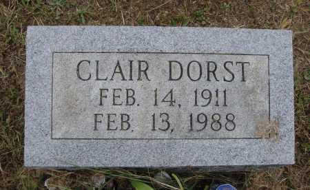 DORST, CLAIR - Meigs County, Ohio | CLAIR DORST - Ohio Gravestone Photos