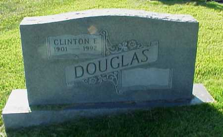 DOUGLAS, CLINTON E. - Meigs County, Ohio | CLINTON E. DOUGLAS - Ohio Gravestone Photos