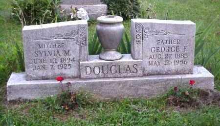 SCOTT DOUGLAS, SYLVIA M. - Meigs County, Ohio | SYLVIA M. SCOTT DOUGLAS - Ohio Gravestone Photos
