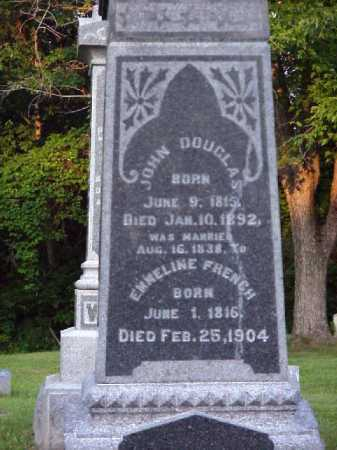 FRENCH DOUGLAS, EMMELINE - Meigs County, Ohio | EMMELINE FRENCH DOUGLAS - Ohio Gravestone Photos