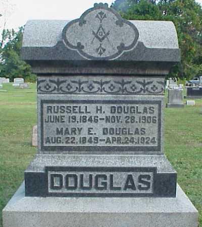 EAKINS DOUGLAS, MARY E. - Meigs County, Ohio | MARY E. EAKINS DOUGLAS - Ohio Gravestone Photos