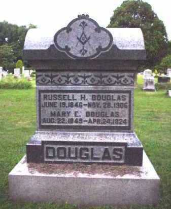 DOUGLAS, MARY E. - Meigs County, Ohio | MARY E. DOUGLAS - Ohio Gravestone Photos
