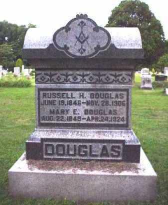 ATKINS DOUGLAS, MARY E. - Meigs County, Ohio | MARY E. ATKINS DOUGLAS - Ohio Gravestone Photos