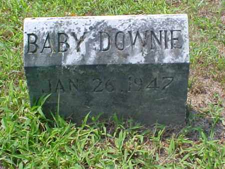 DOWNIE, BABY - Meigs County, Ohio | BABY DOWNIE - Ohio Gravestone Photos