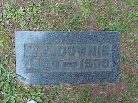 DOWNIE, W.L. - Meigs County, Ohio | W.L. DOWNIE - Ohio Gravestone Photos