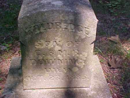 DOWNING, HOLDREDGE - Meigs County, Ohio | HOLDREDGE DOWNING - Ohio Gravestone Photos