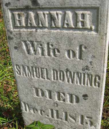 DOWNING, HANNAH - Meigs County, Ohio   HANNAH DOWNING - Ohio Gravestone Photos