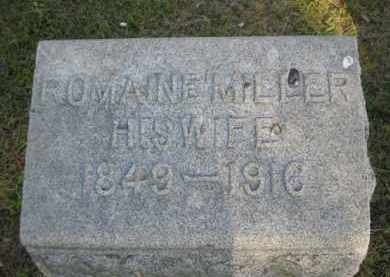 MILLER DOWNING, ROMAINE - Meigs County, Ohio | ROMAINE MILLER DOWNING - Ohio Gravestone Photos