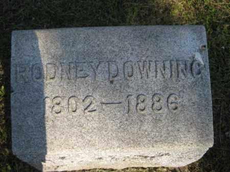 DOWNING, RODNEY - Meigs County, Ohio | RODNEY DOWNING - Ohio Gravestone Photos