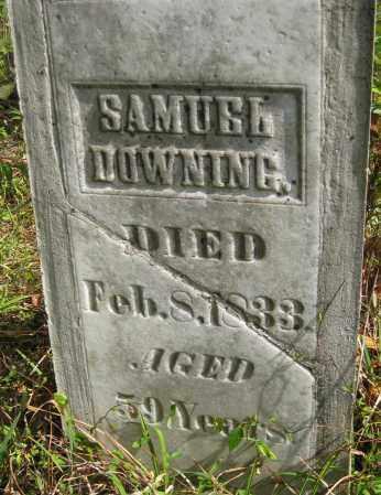 DOWNING, SAMUEL - Meigs County, Ohio   SAMUEL DOWNING - Ohio Gravestone Photos
